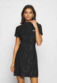 adidas Originals - DRESS - Sukienka z dżerseju - black - 0
