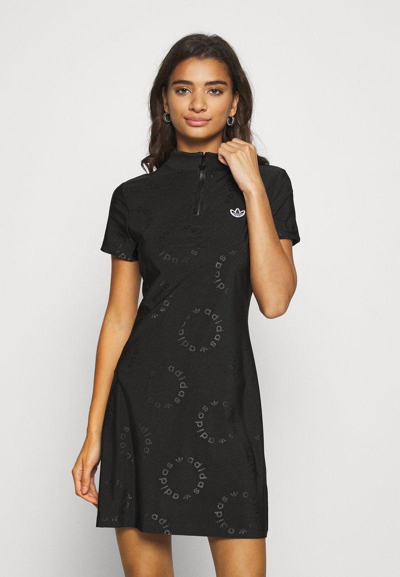 adidas Originals - DRESS - Sukienka z dżerseju - black