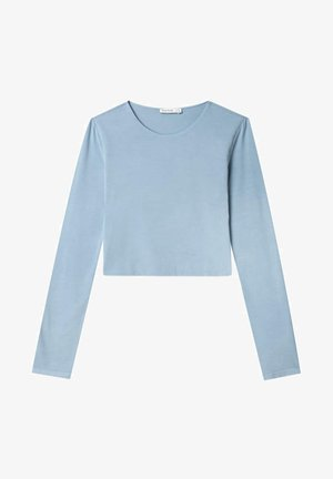 Long sleeved top - light blue