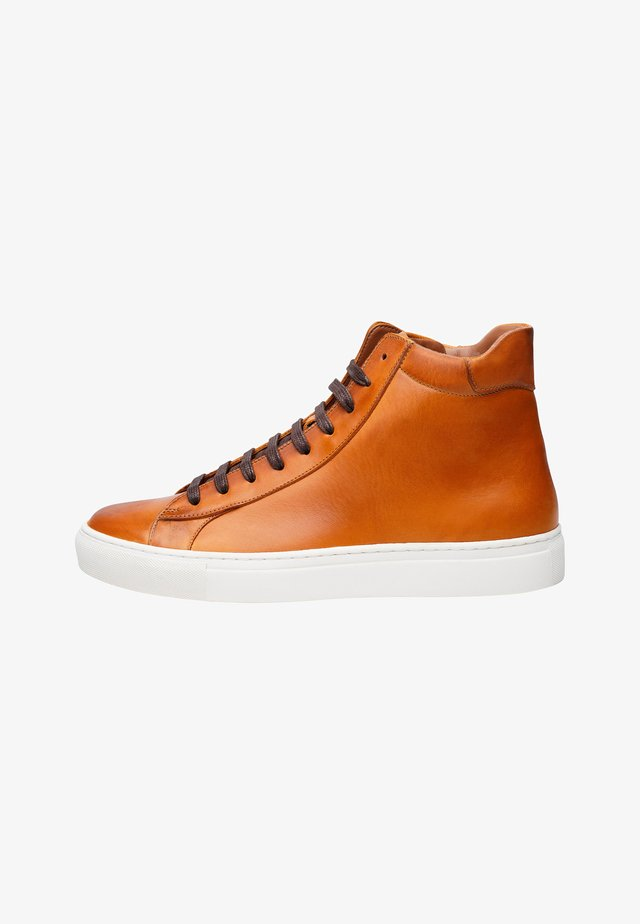 NO. 121 MS - Sneakers laag - cognac
