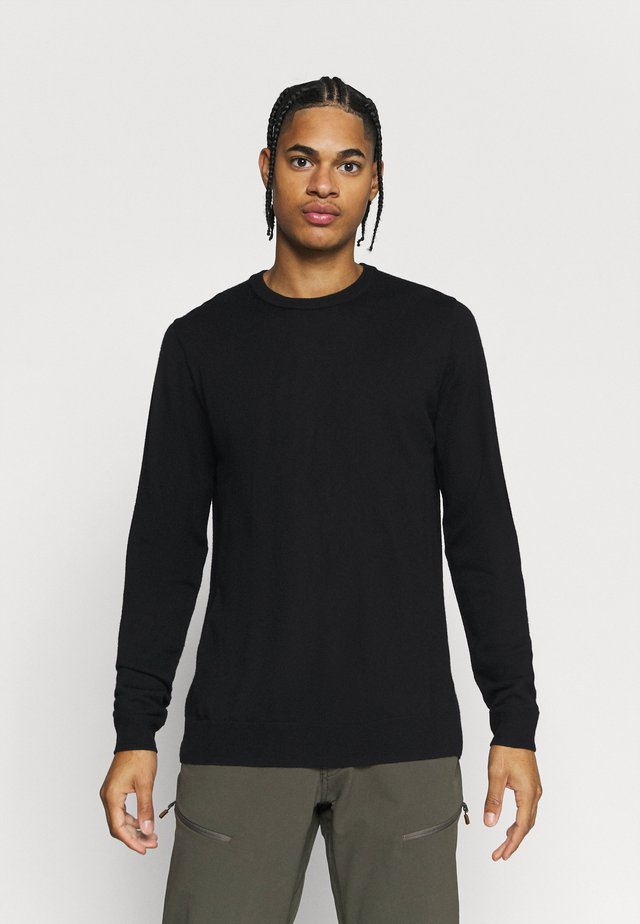 MENS SHEARER CREWE  - Pullover - black