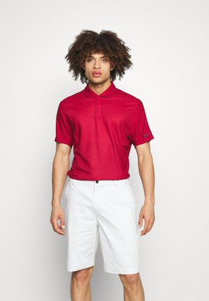 TIGER WOODS TRADITIONAL  - Polo shirt - gym red/team red/black