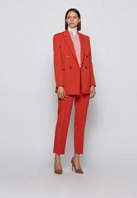 BOSS - BEFELIZE - Button-down blouse - dark orange - 1