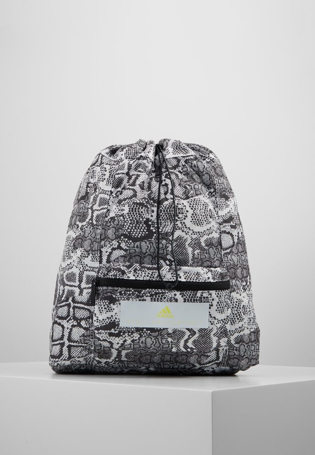 GYMSACK - Ryggsekk - black/white/yellow