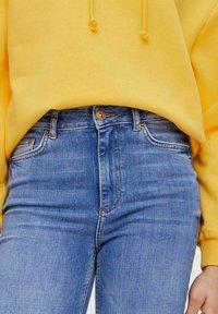 Pieces - Straight leg jeans - medium blue denim - 3