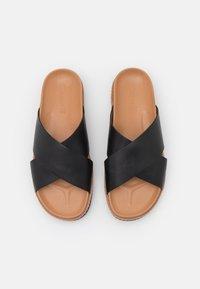 Madewell - PATTY CRISSCROSS LUG  - Mules - amber brown - 5