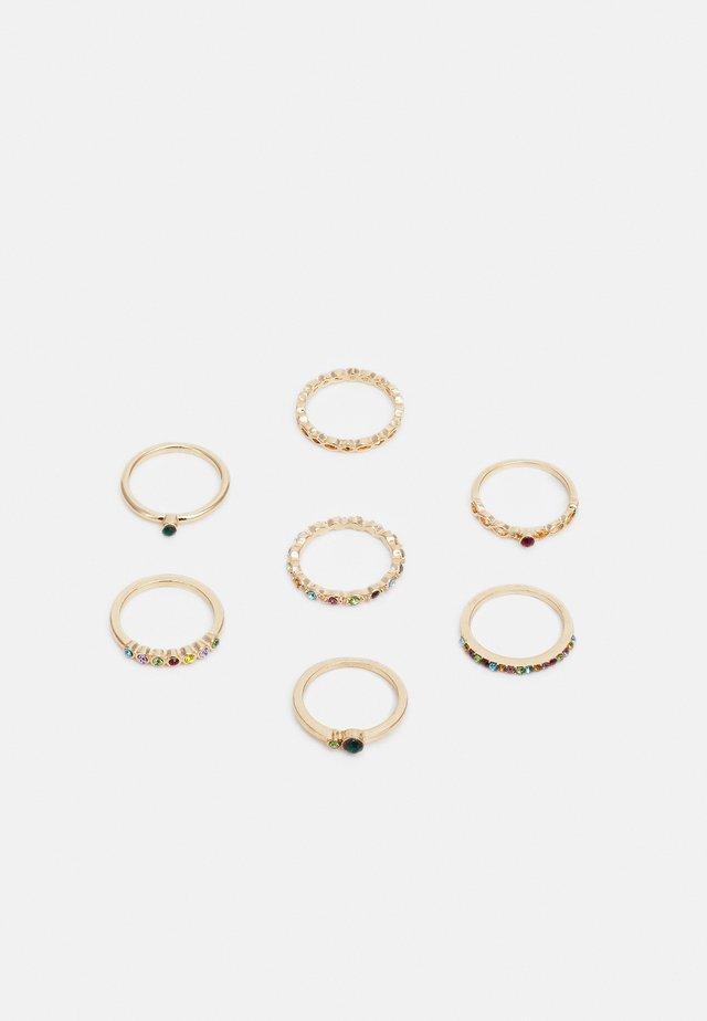 ONLANDREA FINGERRINGS 7 PACK - Ring - gold-coloured