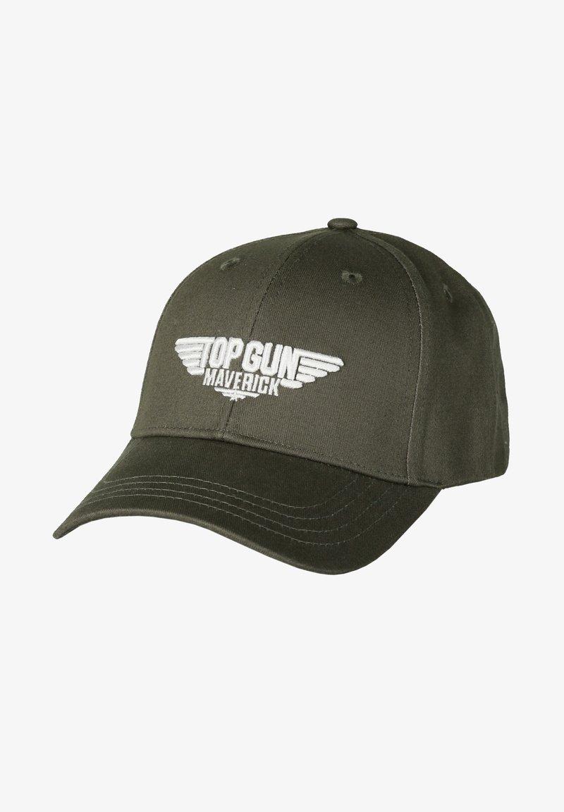 TOP GUN - STICKEREI  - Cap - grey