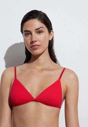 Haut de bikini - red