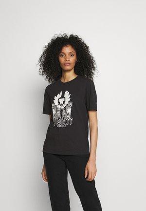 LEOPARD BIKER - T-shirts med print - black