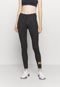 Puma - LEGGINGS - Medias - black - 0
