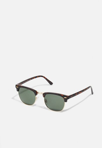 JACRYDER SUNGLASSES - Sunglasses - black/coffee