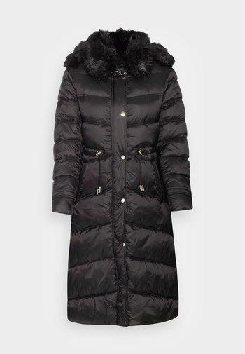 LADIES WOVEN PADDED JACKET - Winter coat - black