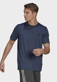 adidas Performance - M HT EL TEE - T-shirts basic - blue - 2