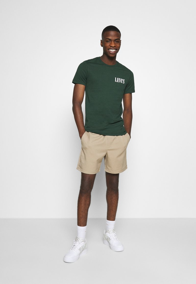 Levi's® - CREWNECK GRAPHIC 2 PACK - Print T-shirt - sycamore/sassafras