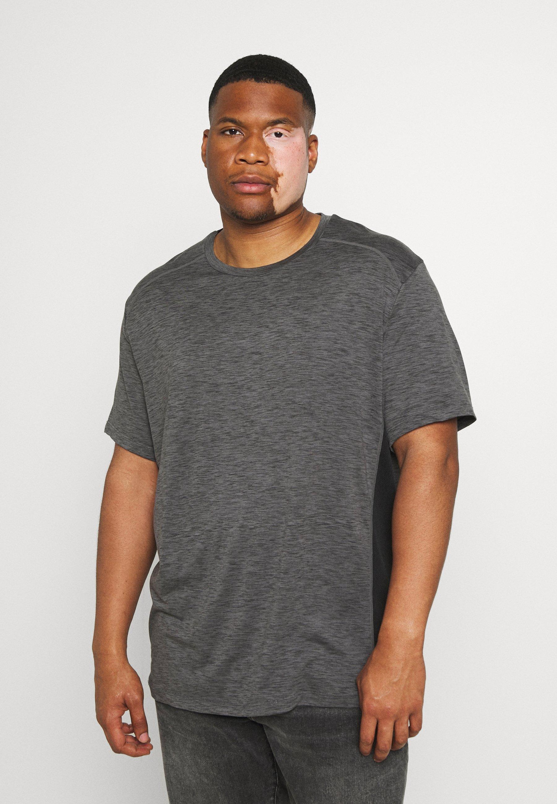 Homme ACTIVE INSERT TEE - T-shirt imprimé