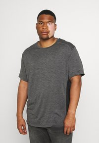 Johnny Bigg - ACTIVE INSERT TEE - T-shirt imprimé - charcoal - 0