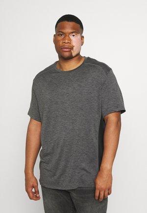 ACTIVE INSERT TEE - T-shirt print - charcoal