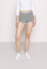 Hollister Co. - CHAIN LOGO - Shorts - grey - 0