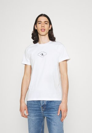 MONOTRIANGLE TEE - Print T-shirt - bright white