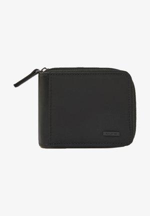 MIT REISSVERSCHLUSS - Wallet - mottled black