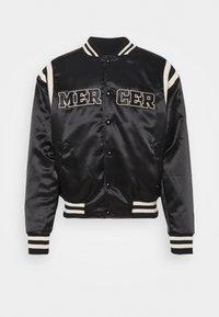 MERCER VARSITY - Bomber Jacket - black