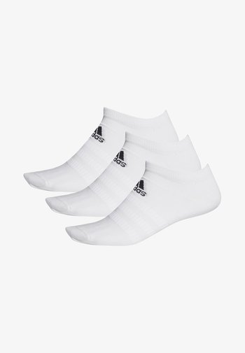 LIGHT NO SHOW 3 PAIR PACK - Skarpety sportowe - white