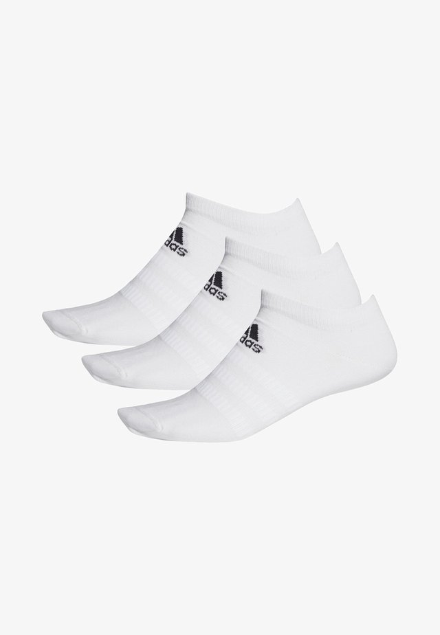 LIGHT NO SHOW 3 PAIR PACK - Sports socks - white
