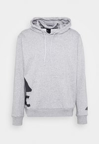 adidas Performance - BOXBOS - Hoodie - medium grey heather - 4