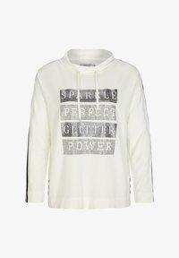 comma casual identity - Sweatshirt - light cream placeed print - 5