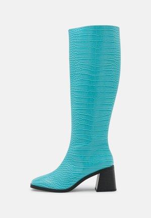 POLLY BOOT VEGAN - Boots - turqoise