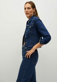 Mango - Denim jacket - dark blue - 3
