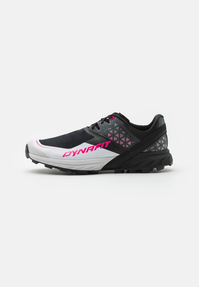 ALPINE DNA  - Chaussures de running - black out/pink glow