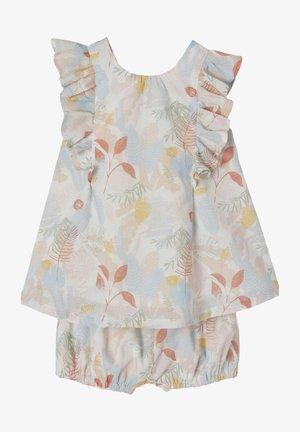 SET - Shorts - hellblau/rosa bedruckt