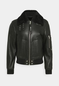 L-ARNOLD  - Leather jacket - black