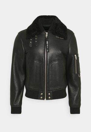 L-ARNOLD JACKET - Leather jacket - black