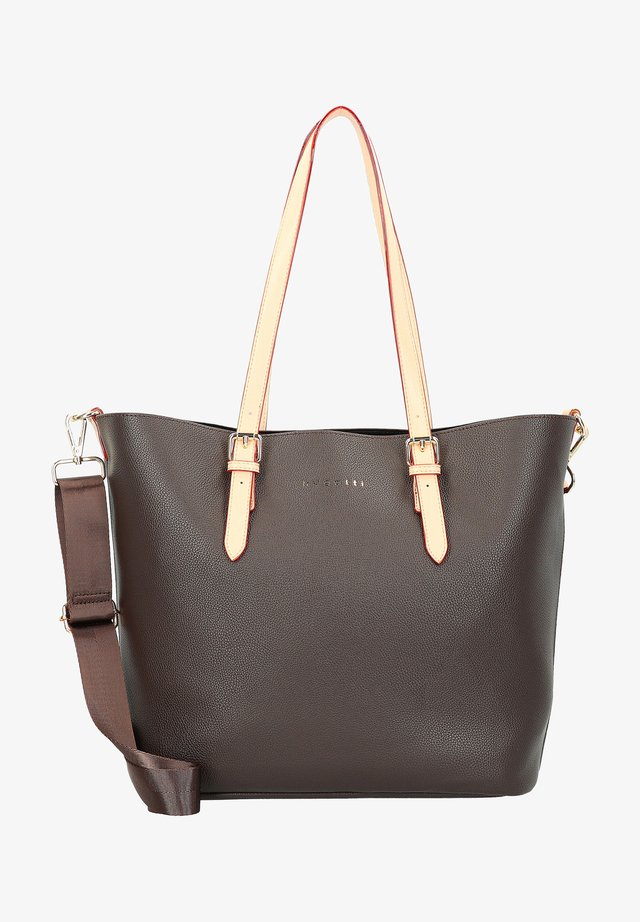Shopping bag - dunkelbraun