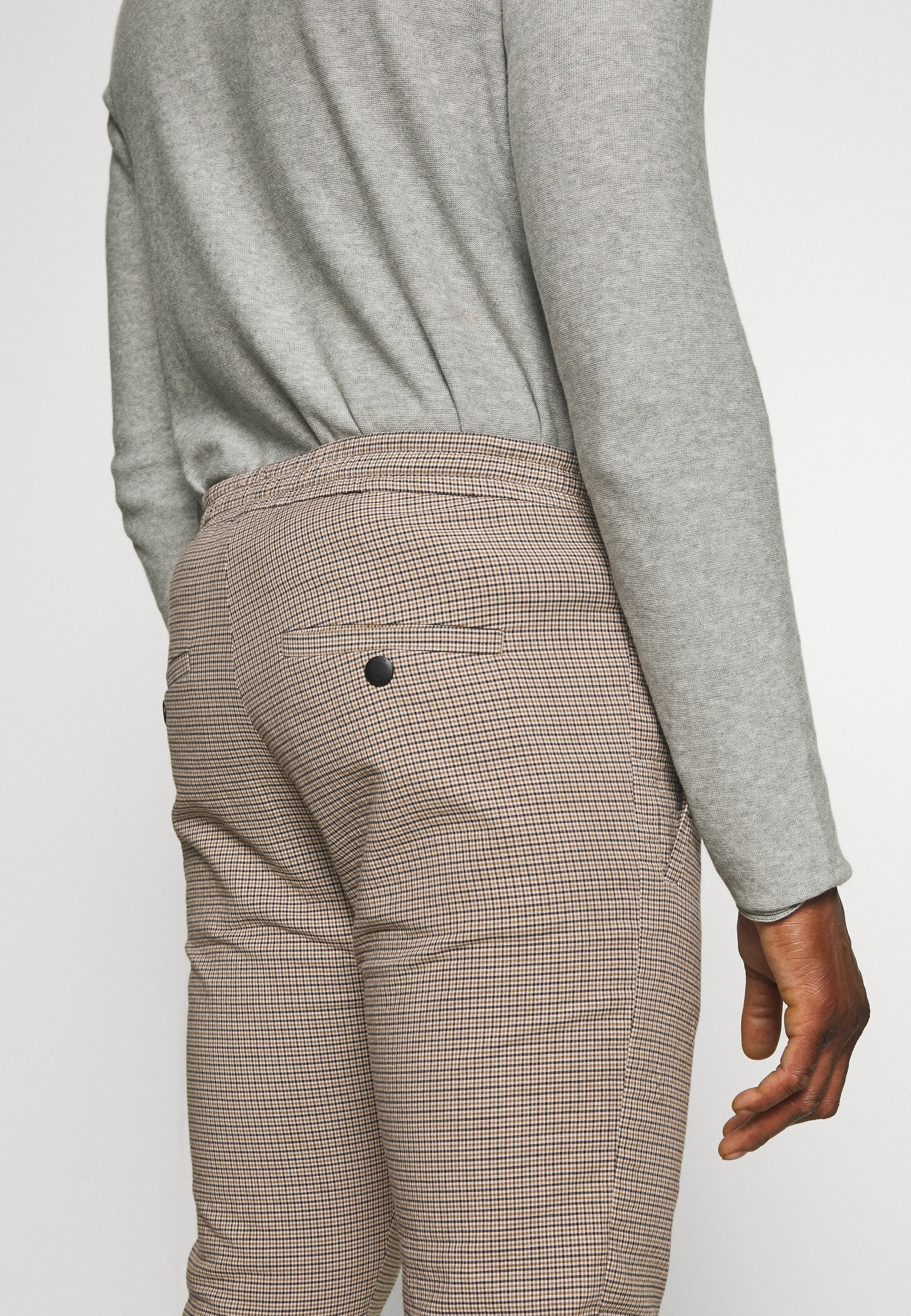 DRYKORN JEGER - Chino - beige check