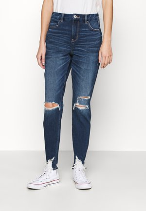 HI RISE DREAM - Jeggings - empire blue