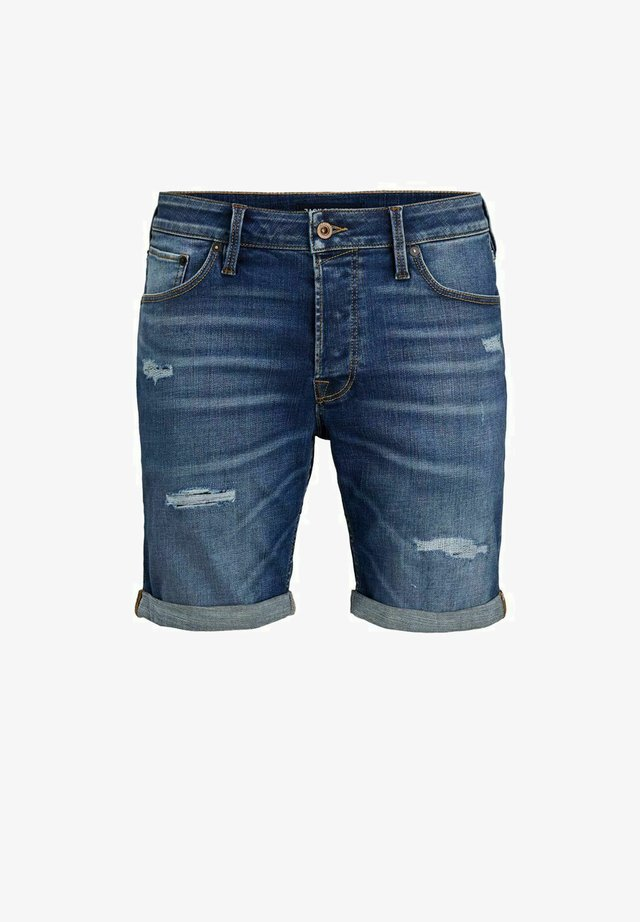 RICK ICON  - Jeansshorts - blue denim