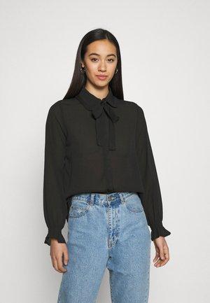 ONLGERRY - Button-down blouse - black
