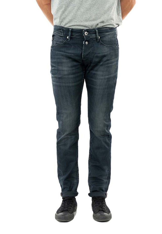 Relaxed fit jeans - bleu