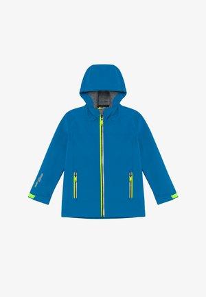 ADJERO - Soft shell jacket - azur