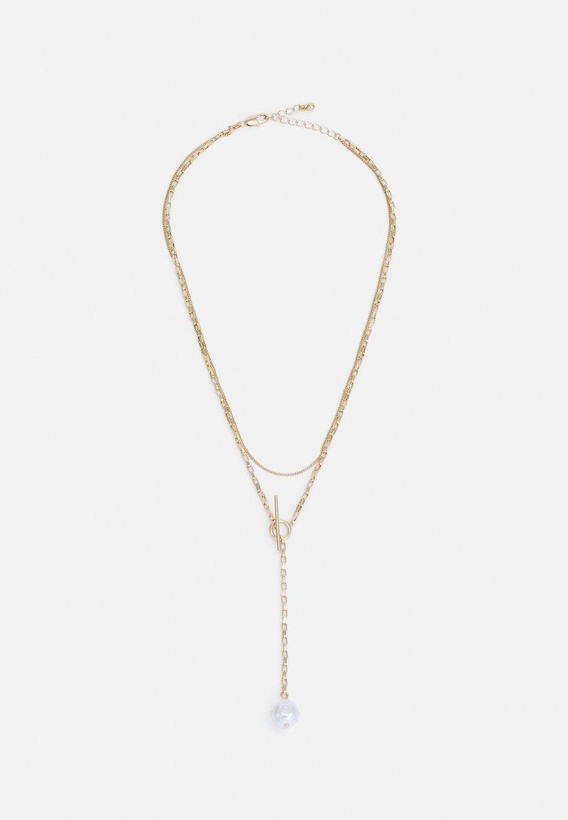 Pieces - PCJALANGA COMBI NECKLACE - Smykke - gold-coloured