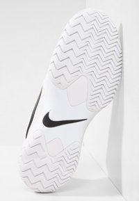 Nike Performance - AIR ZOOM CAGE - Clay court tennis shoes - white/black/university red - 4