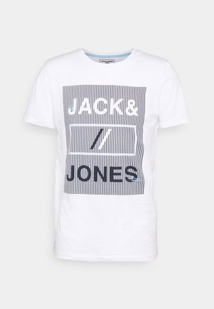 JCOROJAR TEE - T-shirt z nadrukiem - white