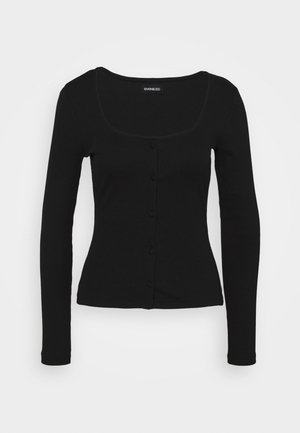 Strickjacke - black