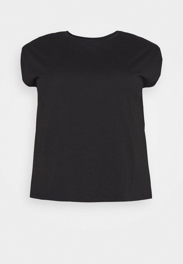 PCLIZ - T-shirt basic - black