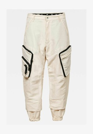E MULTIPOCKET  - Cargo trousers - whitebait
