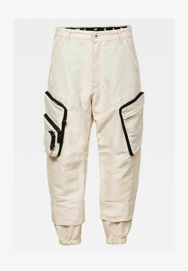 E MULTIPOCKET  - Pantaloni cargo - whitebait